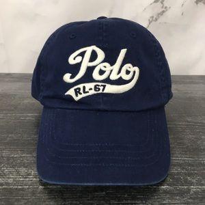 Polo Ralph Lauren Leather Strapback Hat